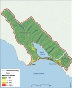 Bolinas Lagoon Imperviousness Map