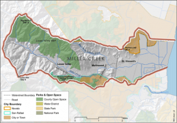Miller Creek Basic Map