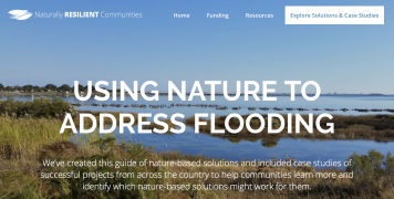 Using Nature to Address Flooding website